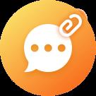 短信附件恢复图标
