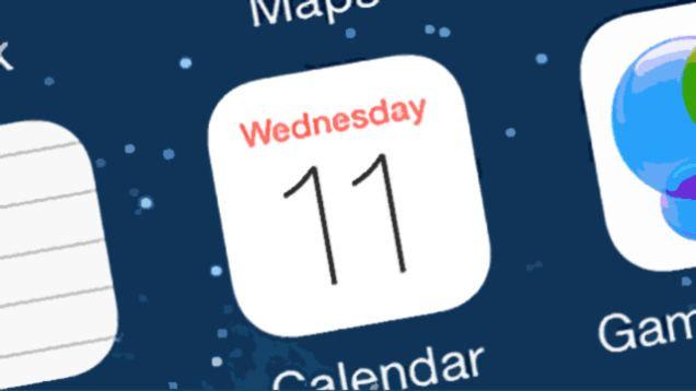 如何恢复iPhone手机中的日历