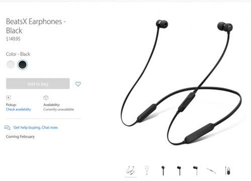 苹果BeatsX耳机
