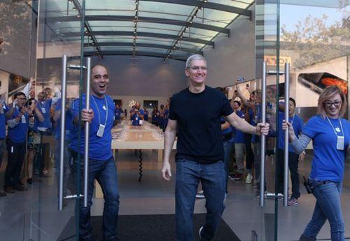 苹果加速在大陆开设零售店的步伐