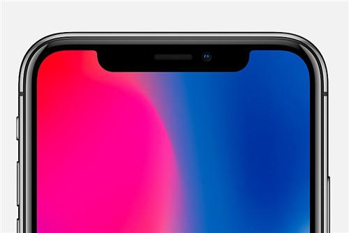 iPhone X刘海